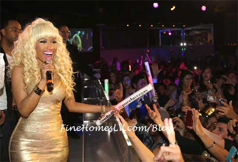 Nicki Minaj at PURE Las Vegas