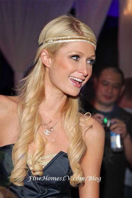 Paris Hilton at PURE Nightclub