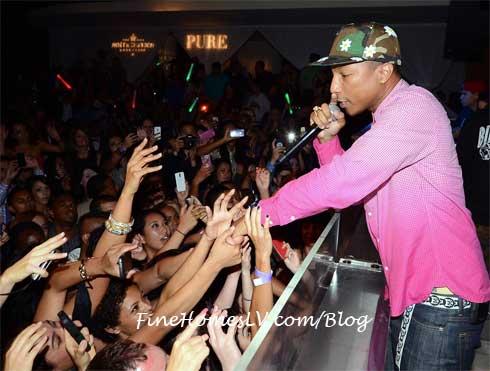 Pharrell at PURE