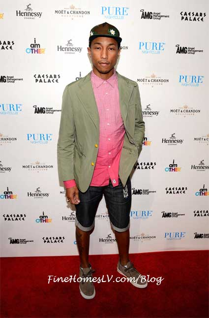 Pharrell at PURE