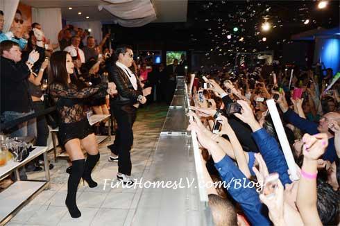 PSY Dances Gangnam Style at PURE Nightclub