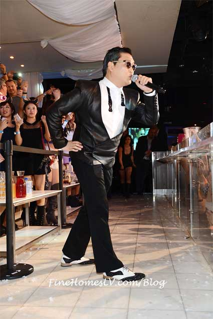 PSY Performs Gangnam Style at PURE Nightclub