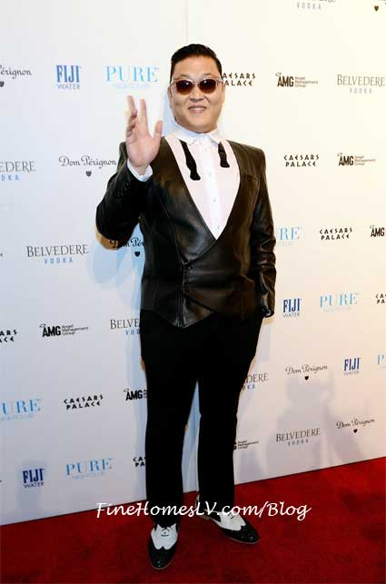 Youtube Superstar PSY Kicks Off NYE Weekend & B'day At PURE Nightclub