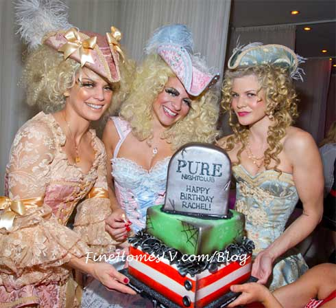 Rachel McCord Birthday Cake at PURE