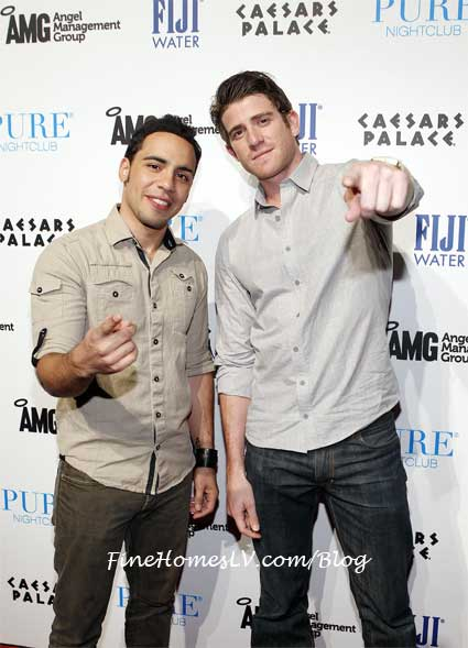 Victor Rasuk and Bryan Greenber at PURE