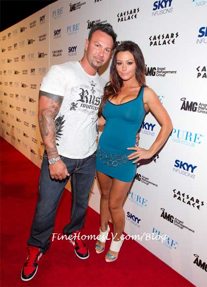 Roger Matthews and Jenni Farley