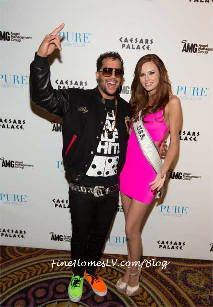 Sky Blu and Alyssa Campanella at PURE