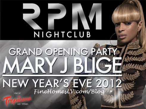 Mary J Blige at RPM Nightclub