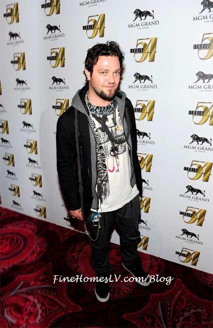 Bam Margera at Studio 54 Las Vegas