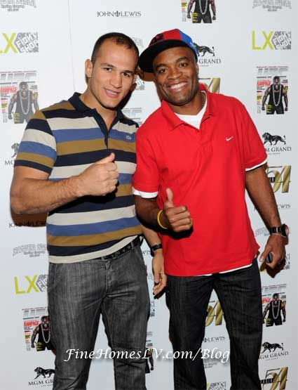 Junior Dos Santos and Anderson Silva