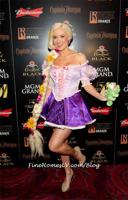 Holly Madison as Rapunzel