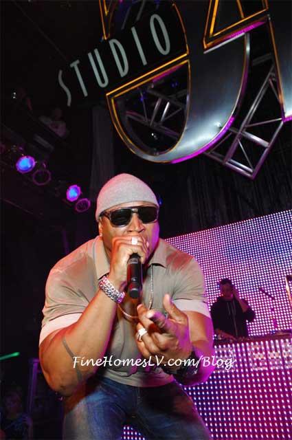 LL Cool J at Studio 54