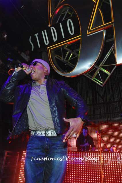 LL Cool J at Studio 54 Las Vegas