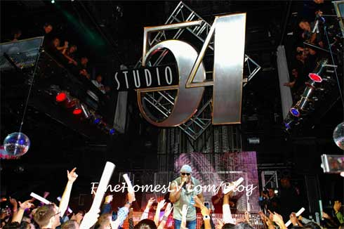 LL Cool J at Studio 54 Nightclub