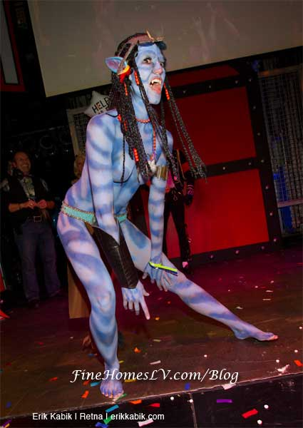 Avatar Blue Costume