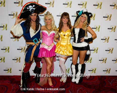 Josh Strickland, Holly Madison, Laura Croft and Angel Porrino