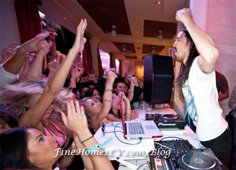 DJ Steve Aoki at Surrender Nightclub