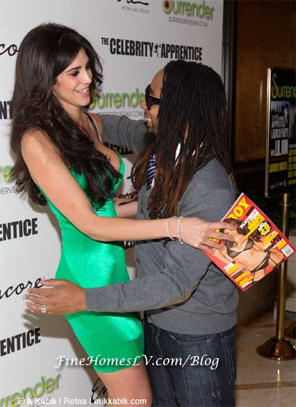 Hope Dworaczyk and Lil Jon