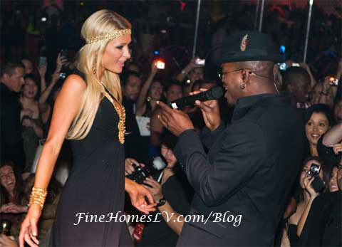 Paris Hilton and NeYo