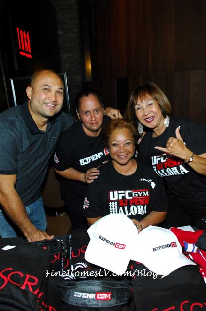 BJ Penn, Mother and Aunt