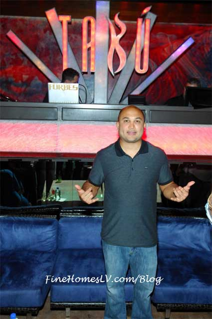 BJ Penn at TABU