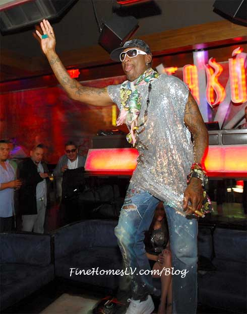 Dennis Rodman at TABU