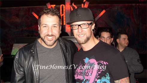 Joey Fatone and DJ Scotty Boy