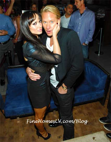 Karina Smirnoff and Carson Kressley
