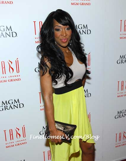 Malika Haqq on the Red Carpet At TABU