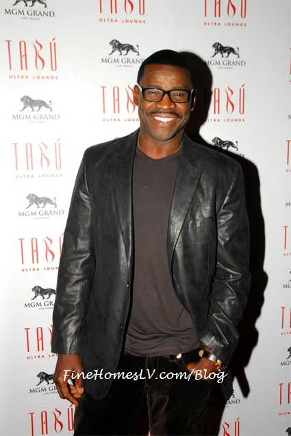 Michael Irvin at Tabu Las Vegas