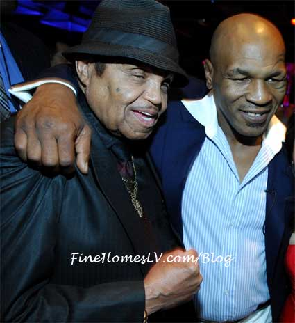 Mike Tyson and Joe Jackson at Tabu