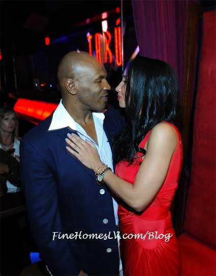 Mike Tyson and Kiki at TABU