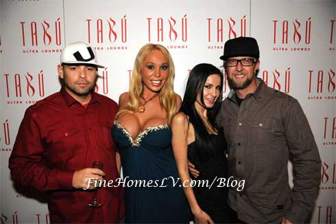 Mario Monge, Mary Carey, Tony Shtarkman and DJ Scotty Boy