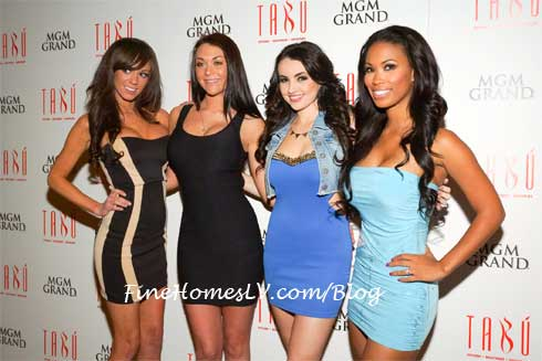 Playmates at TABU Nightclub
