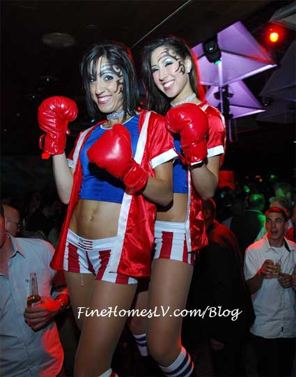 Sexy Lady Boxers at TABU Nightclub