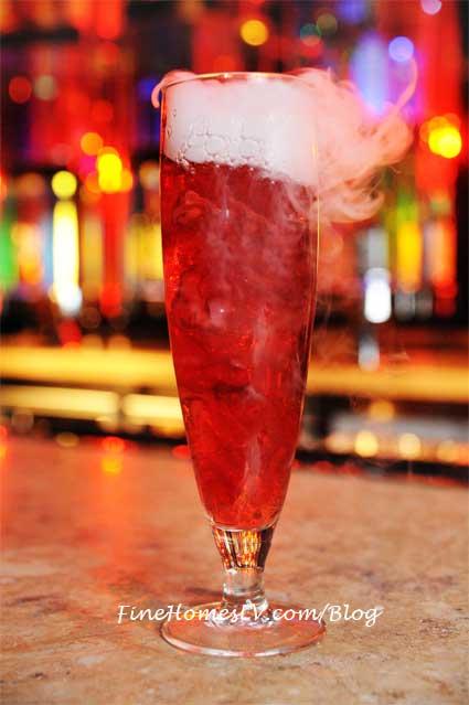 Smoking Zombie Cocktail