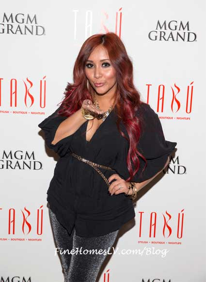 Snooki Polizzi at TABU