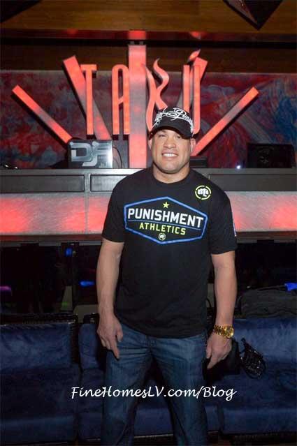 Tito Ortiz at TABU Las Vegas