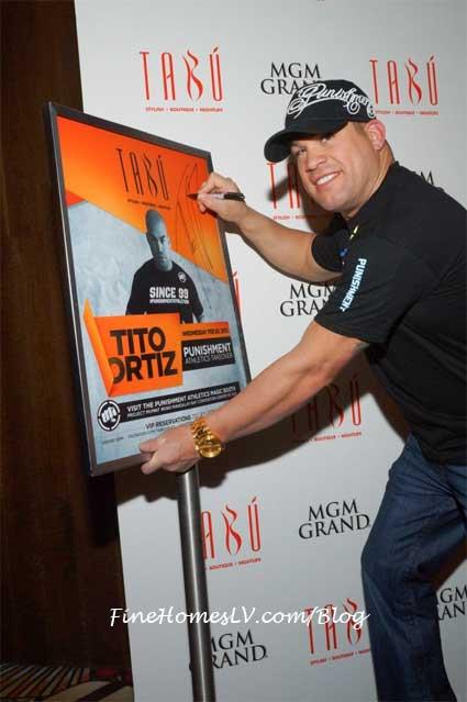 Tito Ortiz at TABU