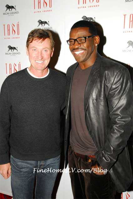 Wayne Gretzky and Michael Irvin