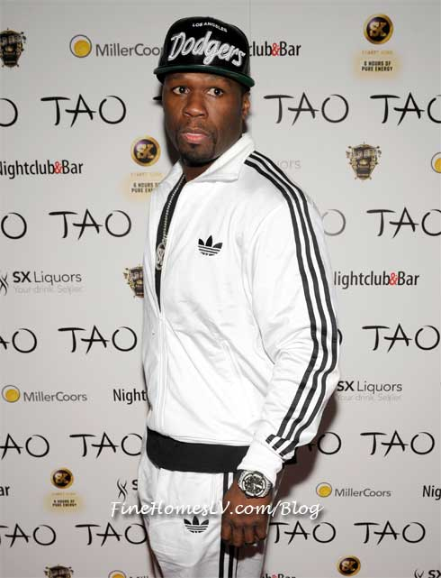50 Cent at TAO
