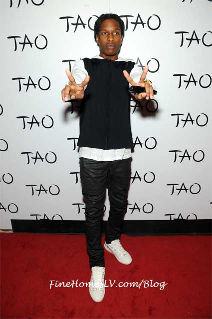 ASAP Rocky at TAO Nightclub
