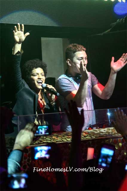 Bruno Mars at TAO Las Vegas