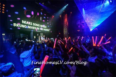 Bruno Mars at TAO