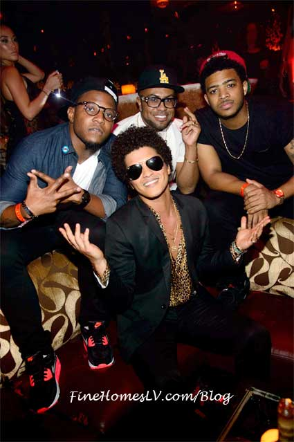 Bruno Mars at TAO Nightclub