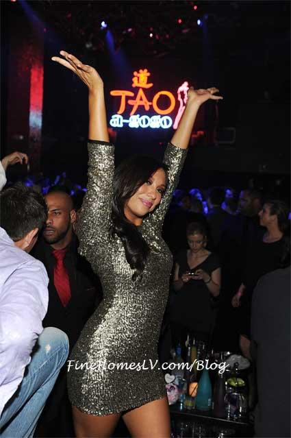 Cheryl Burke at TAO
