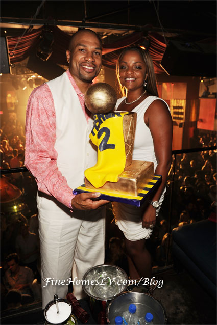 Derek Fisher and Candace Fisher