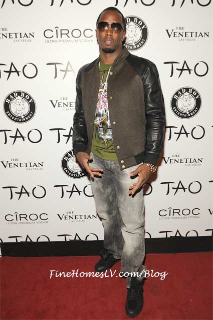 Diddy On The Red Carpet At TAO