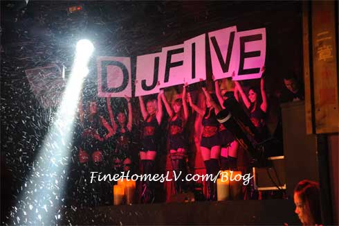 DJ Five at TAO