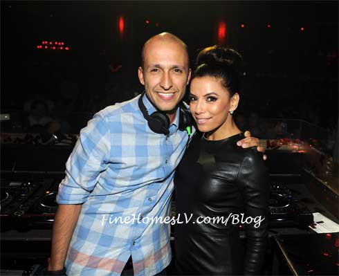 DJ Vice and Eva Longoria